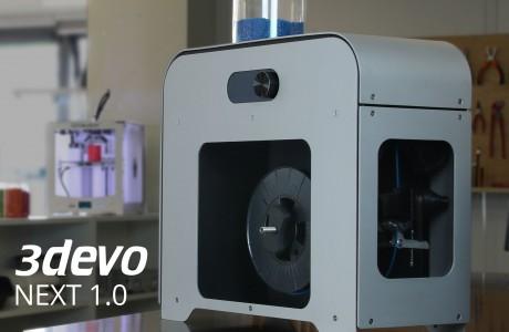 3devo NEXT 1.0 filament extruder