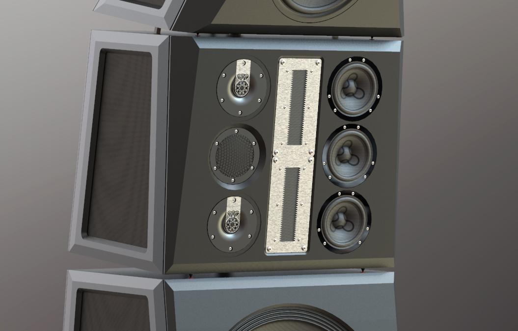 Speaker behuizing